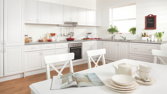 flat pack kitchens gallery - a spacious delight country kitchen