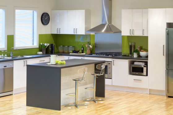 flat pack kitchens gallery - a timeless classic island