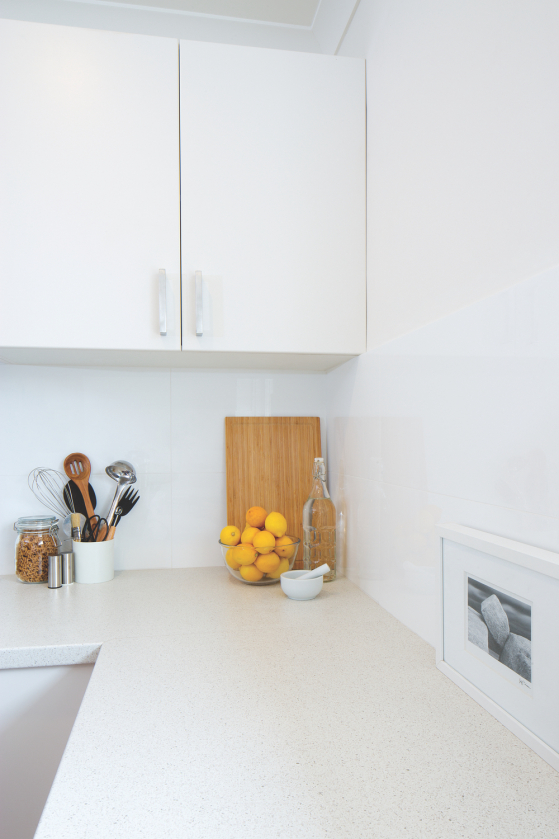 flat pack kitchen gallery - breathing new life kitchen benchtop