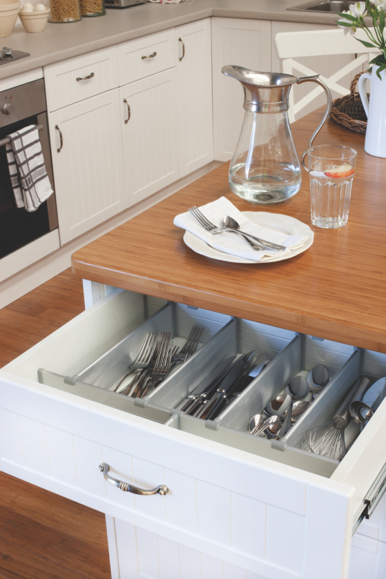flat pack kitchens gallery - city meets country drawer dividers