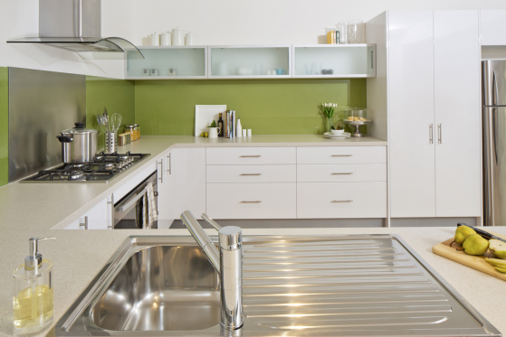 flat pack kitchens gallery - cook in comfort spacious kitchen