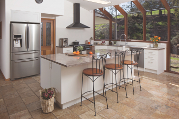 flat pack kitchens gallery - entertain in style thumb