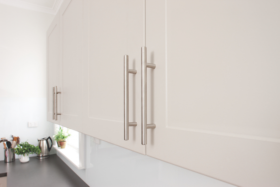 flat pack kitchens gallery - high profile wall cabinets