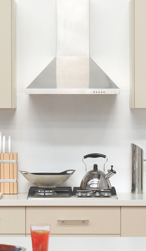 flat pack kitchens gallery - looks can be deceiving rangehood