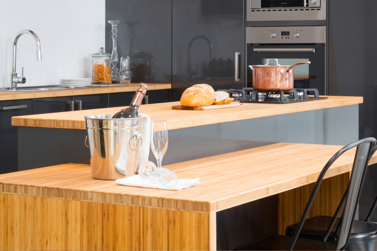 flat pack kitchens gallery - all that shines benchtop