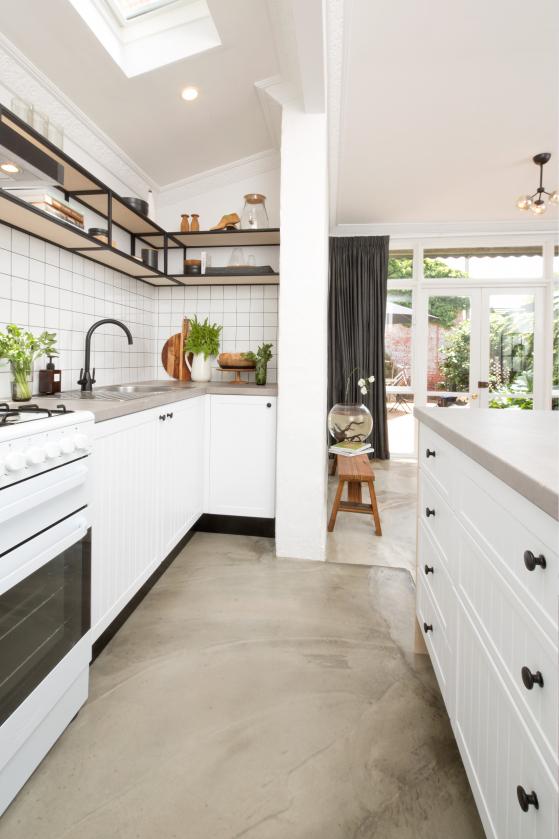 flat pack kitchens gallery - industrial elegance designer kitchen