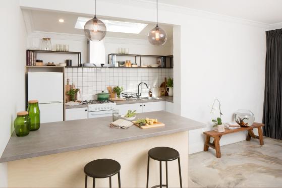 flat pack kitchens gallery - industrial elegance hero