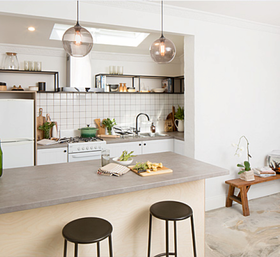 flat pack kitchens gallery - industrial elegance thumb