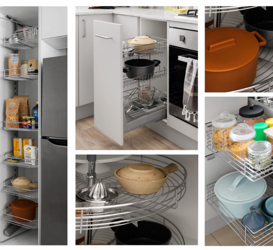 Assortment of kitchen wireware
