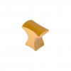 kaboodle kitchen cabo knob brushed amber gold