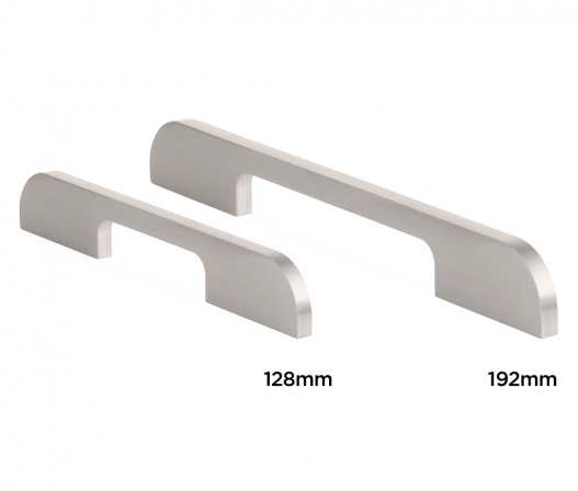 curved slim bar handle family