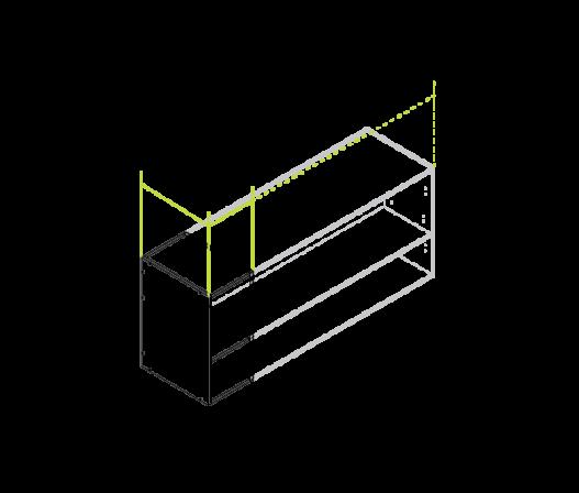 Medium wall cabinet