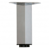 kaboodle cabinet leg - rectangle chrome