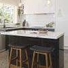kaboodle kitchen benchtop calcutta gloss AU kitchen