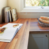 kaboodle kitchen benchtop hickory maple AU detail
