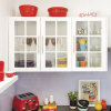 kaboodle kitchen 6 panel glass door AU detail