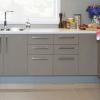 kaboodle kitchen aluminum kickboard AU detail