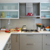 kaboodle kitchen frosted glass space