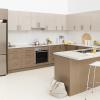 kaboodle kitchen shimmer metallic AU kitchen