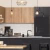 kaboodle kitchen spiced oak rustic