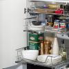 kaboodle kitchen 600mm pullout basket soft close AU detail