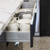 kaboodle kitchen 900mm metal sided drawer soft close AU detail