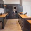 kaboodle kitchen luminess metallic  rustic