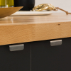 kaboodle kitchen discreet grip handles minimalist chic
