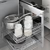 kaboodle kitchen blind corner pullout baskets 2 tier soft close AU detail
