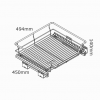kaboodle kitchen 600mm pullout basket soft close AU