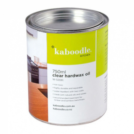 kaboodle clear hardwax oil tin