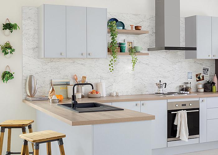 kitchen benchtop design hacks | kaboodle kitchen