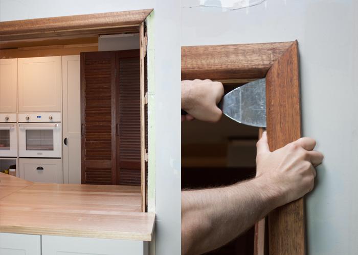 kitchen door and window frame design hacks | kaboodle kitchen