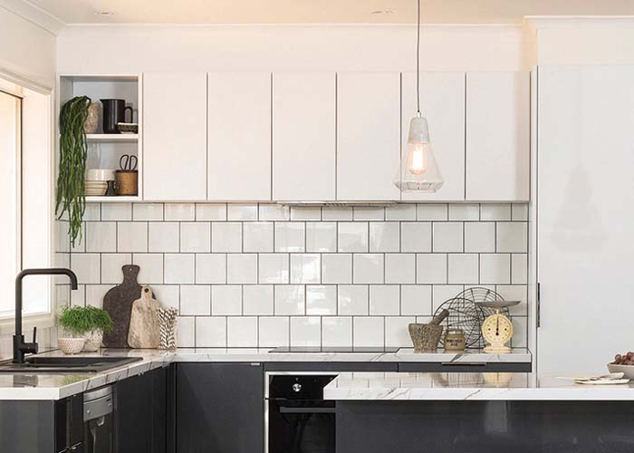 Charmant Our 600mm Rangehood Cabinets Were Used In This Minimal Kitchen  Configuration.
