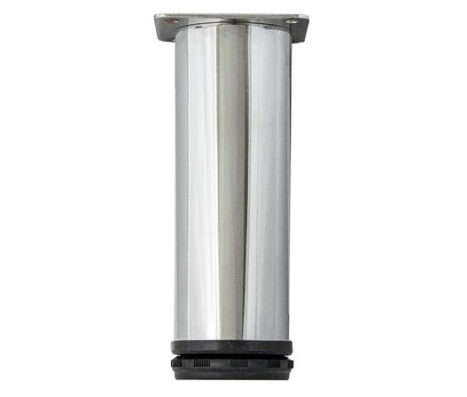 kaboodle cabinet leg - chrome cylinder