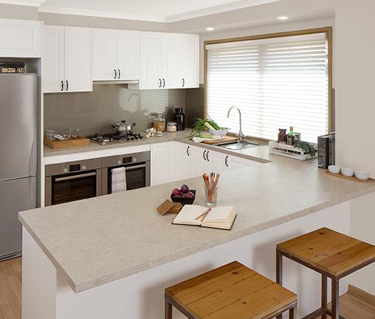 kaboodle kitchen benchtop barley bean AU kitchen