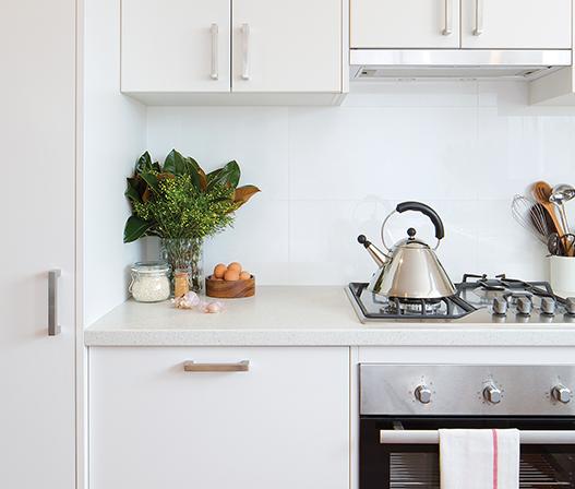 kaboodle kitchen benchtop crackle crush AU kitchen