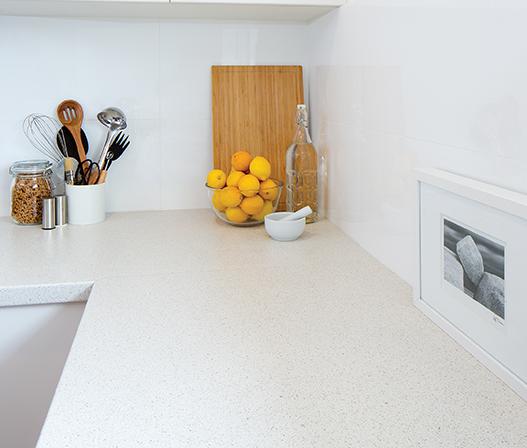 kaboodle kitchen benchtop crackle crush AU feature
