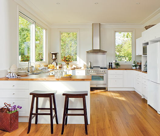 Hickory Maple Kitchen Benchtop