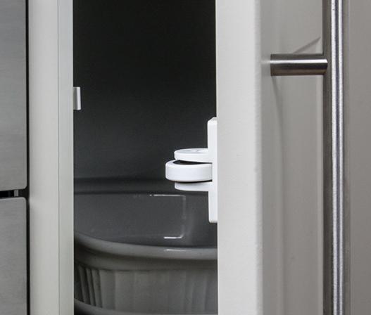 kaboodle kitchen corner door roller catch AU detail
