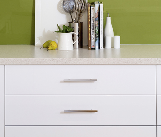 kitchen t-pull handle in kaboodle kitchen