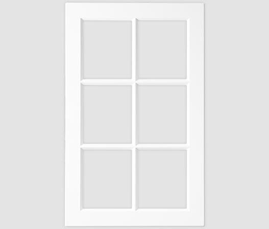 kaboodle kitchen 6 panel glass door AU
