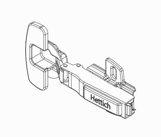 Hettich Soft Close Door Hinges | kaboodle kitchen