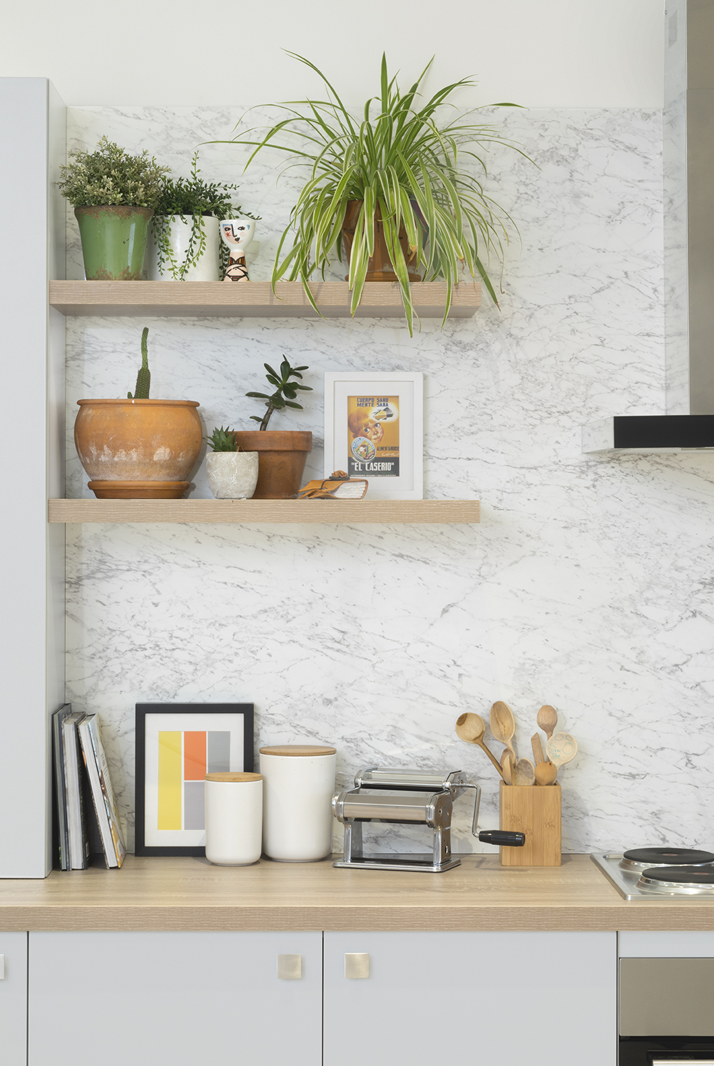 kitchen shelving ideas inspirational plan for natural | Natural beauty - kitchen inspiration and ideas | kaboodle ...