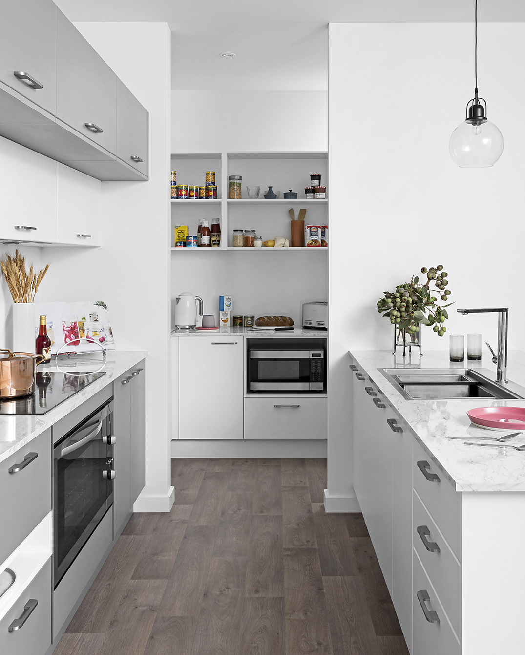 Grey glamour - kitchen inspiration and ideas | kaboodle ...