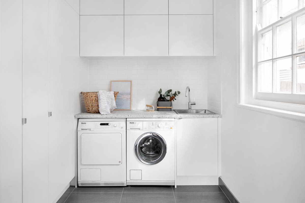 Laundry designs and ideas  kaboodle kitchen