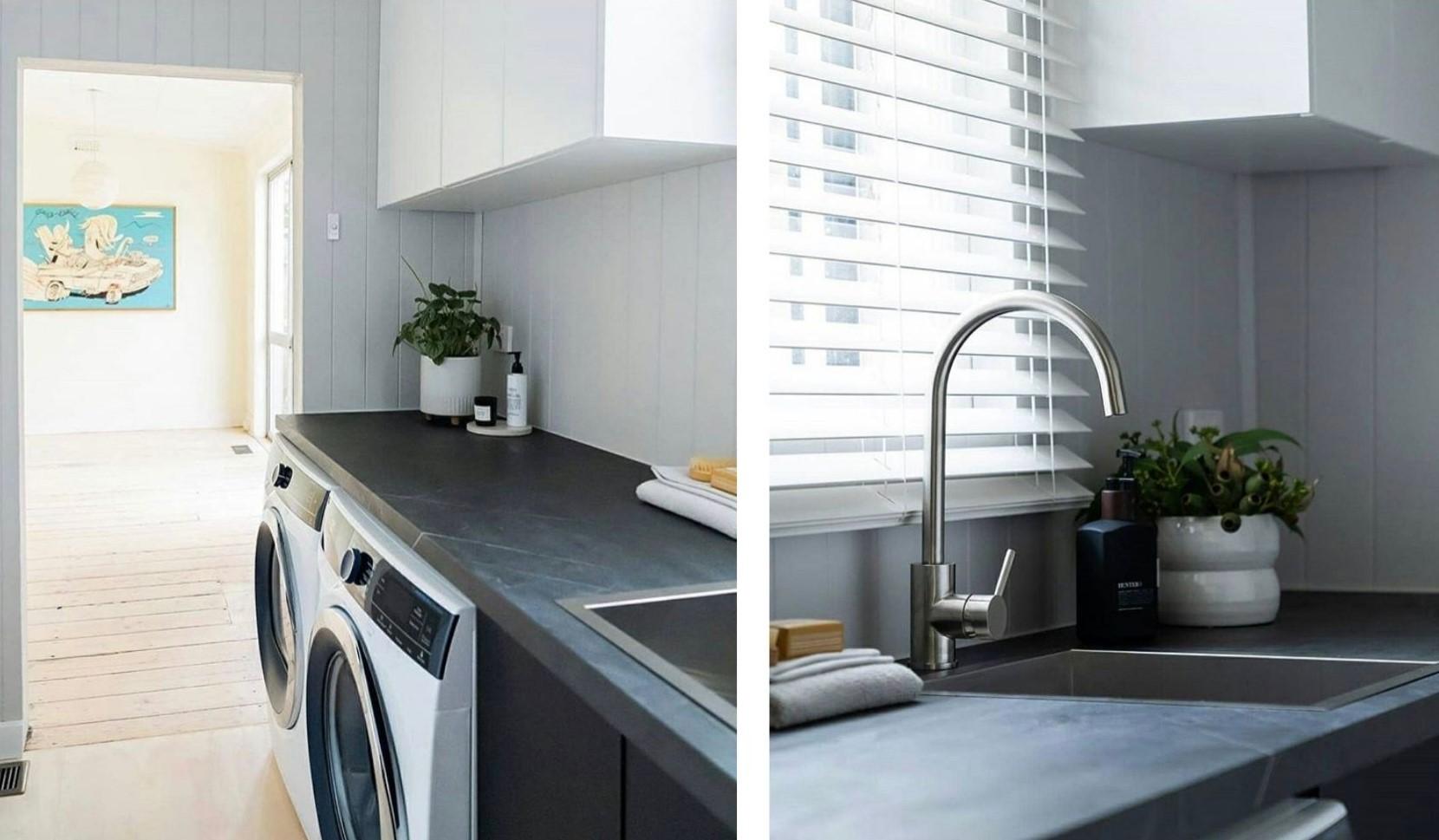 neutral colour laundry