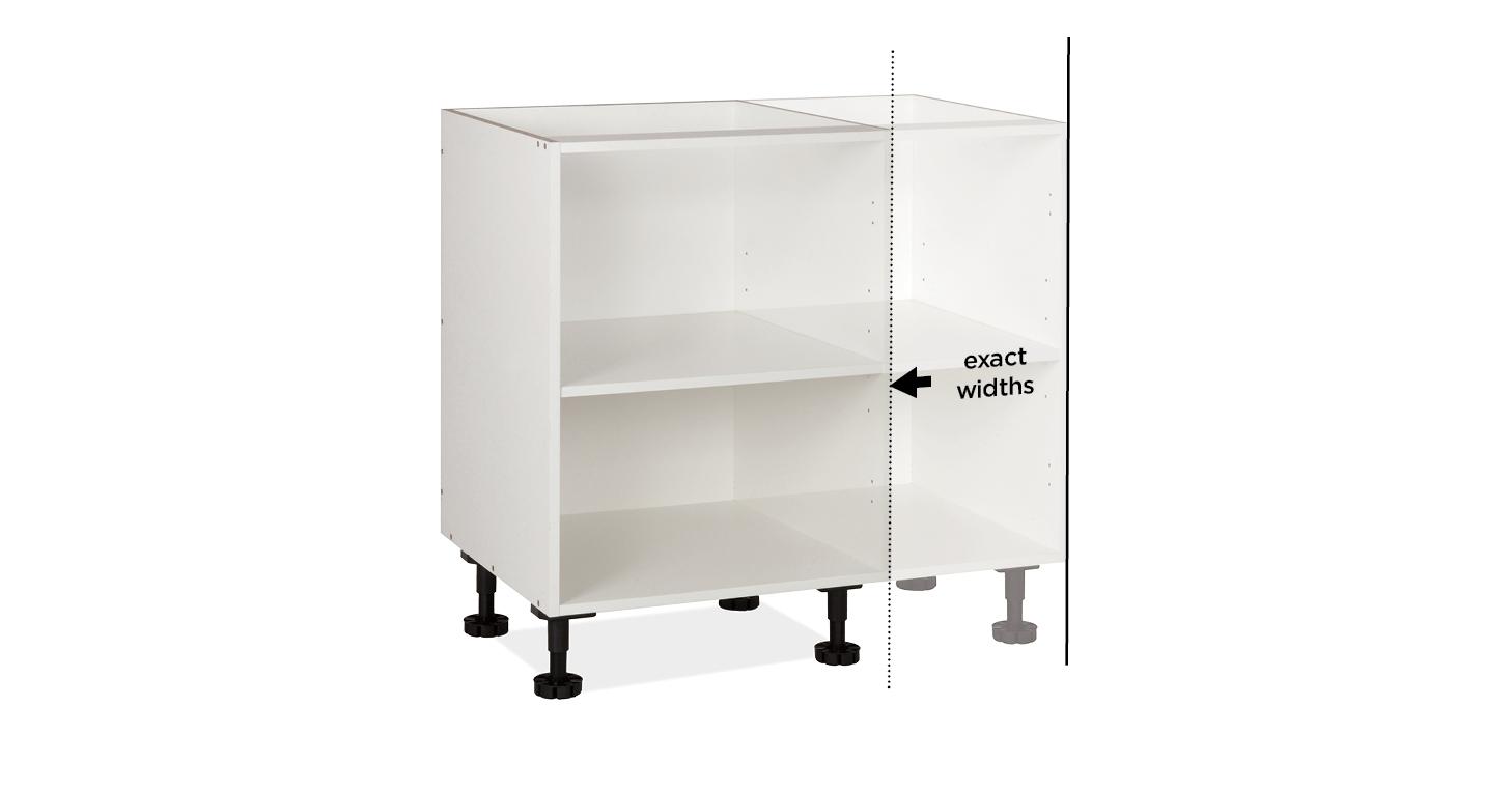 custom width kitchen cabinet in australia
