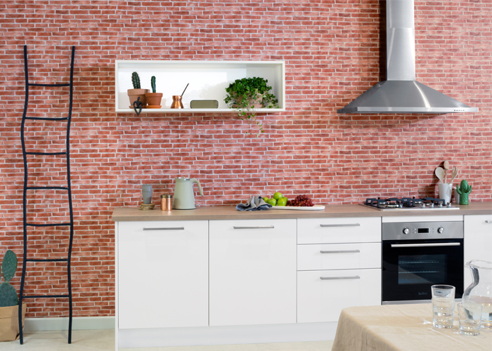 flat pack kitchens design blog  - kitchen colour trends terracotta