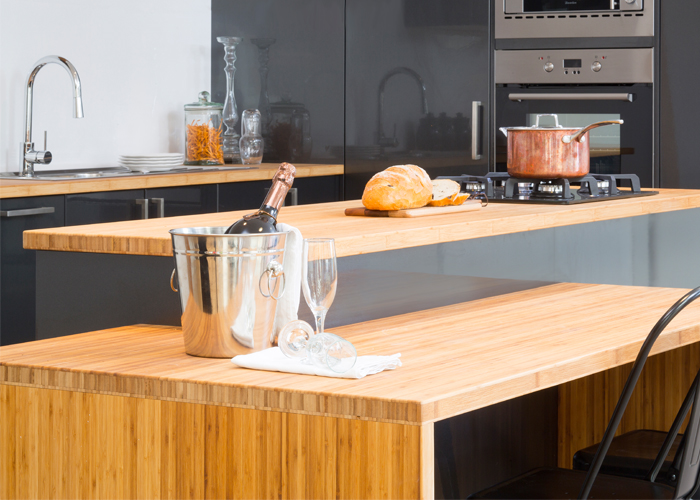 diy kitchens design blog - the latest kitchen trends in 2015 bamboo benchtops